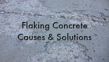 Flaking Or Chipping Concrete Redco